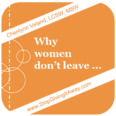 Why women don't leave